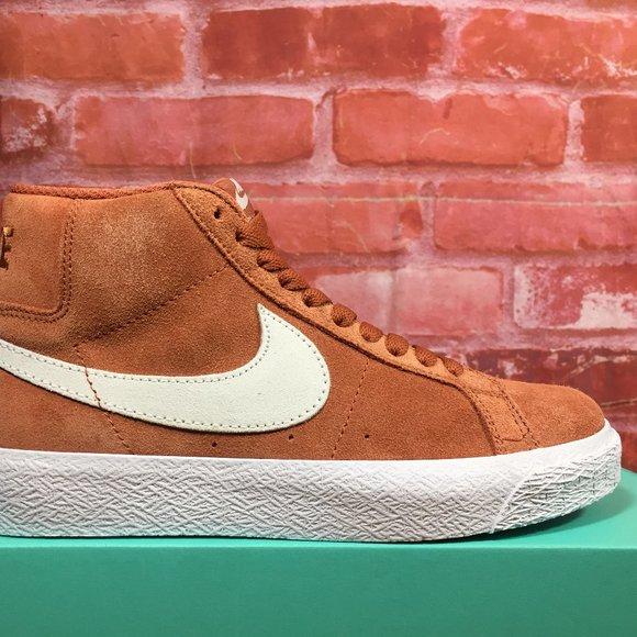 Nike Shoes   Nike Sb Zoom Blazer Mid Dusty Peach White   Poshmark